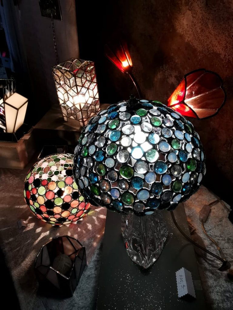 lampes Maille